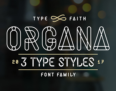 Organa: Font by TypeFaith