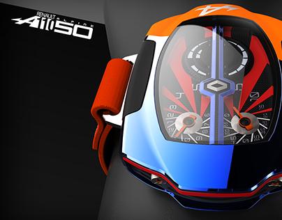 Alpine A110-50 Concept Watch