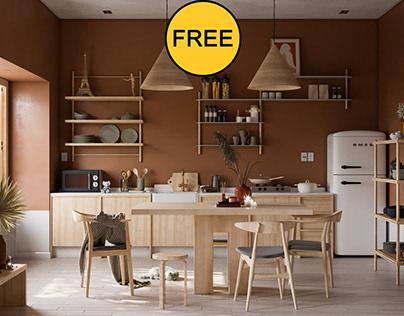 FREE Interior Kitchenroom 2