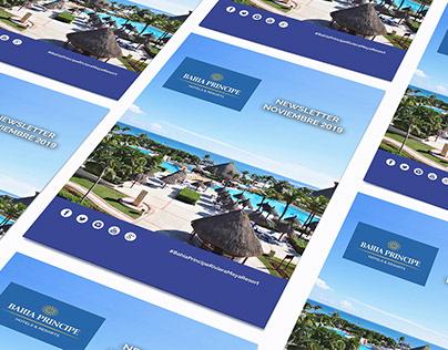 Newsletter Mensual de Bahia Principe Riviera Maya R
