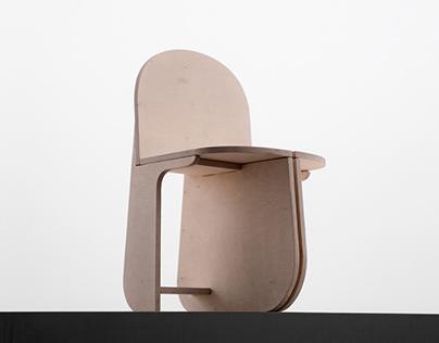Tri-round chair