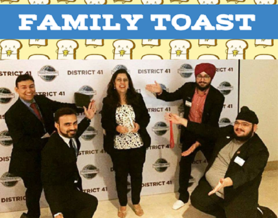 Newsletter Design for Toastmasters Of Delhi - Dec '17