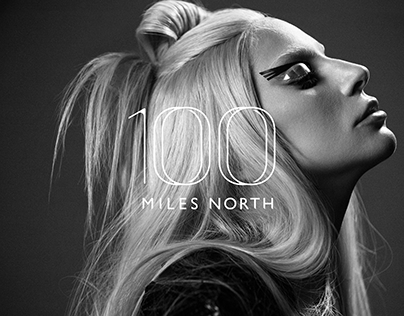 100 Miles North Branding and Website