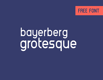 Bayerberg Grotesque