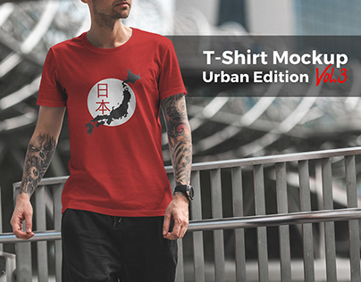 T-Shirt Mockup Urban Edition Vol. 3