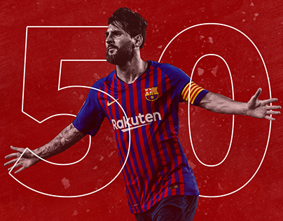 Lionel Messi 50th Hat Trick