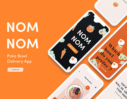 Nom Nom - Food Delivery Mobile App