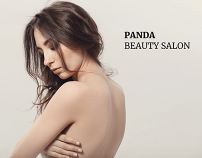 PANDA - beauty salon landing page