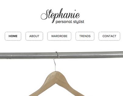 Stylist Personal Website