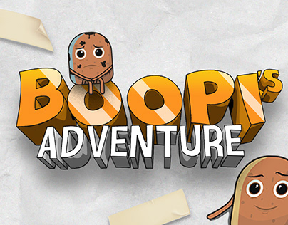 BOOPI's ADVENTURE (illustration + Real Life)