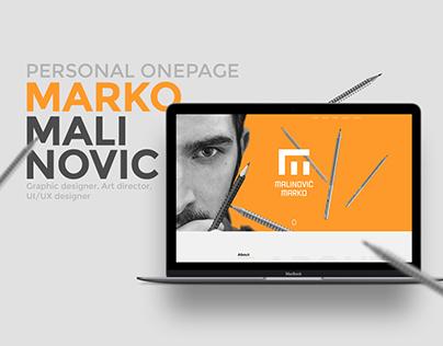 Marko Malinovic - Personal Website