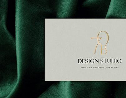70B Design Studio   Brand Identity, Website