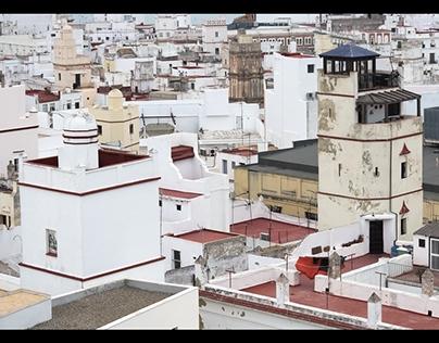 Cádiz from above