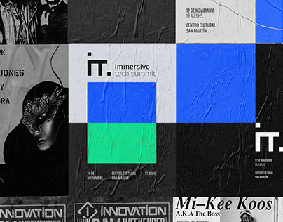Immersive Tech Summit | Branding | Identity Design