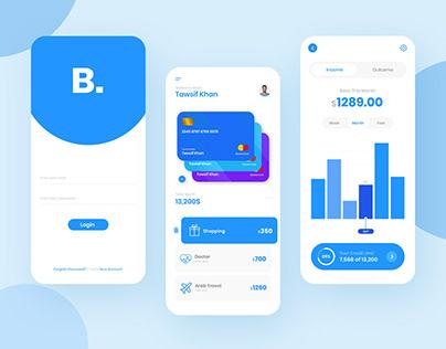 financial mobile App design