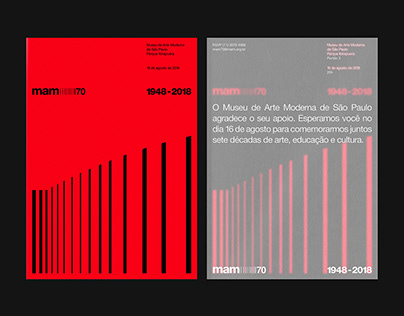 mam 70 ─ Museum of Modern Art of São Paulo