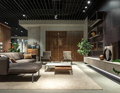 Interior photoshoot of Rimadesio showroom in Kyiv