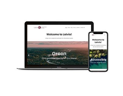 Latvia Convention Bureau website