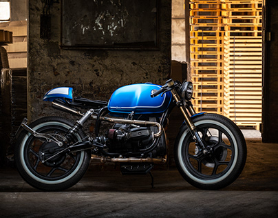 Incerum Customs - blue BMW R100