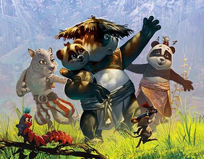 Illustrations for children's book 1