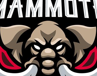 Mammoth Esport Mascot Logo | Sports Logo
