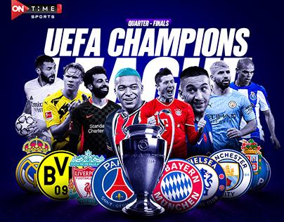 UEFA CHAMPIONS LEAGUE ( QUARTER FINAL DRAW )