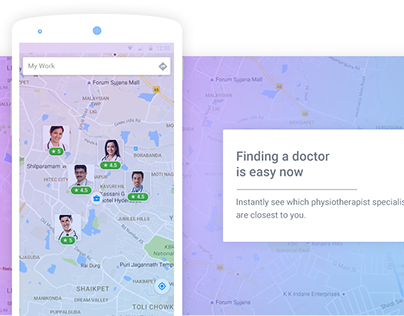 Health Service App / Find the right doctor