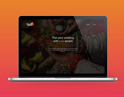 Web Design : Shaadi Waadi - Wedding Organiser