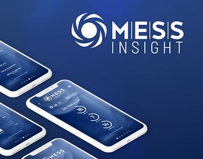 MESS Insight Mobile App | UI Design