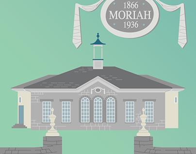 Moriah Church Vector Art