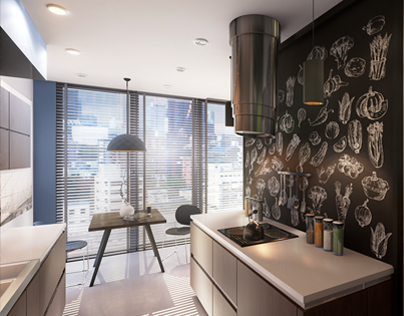 Apartment A27m. Unreal Engine based virtual tour.