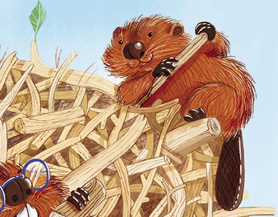 Beavers Kids Magazine Cover, 2019