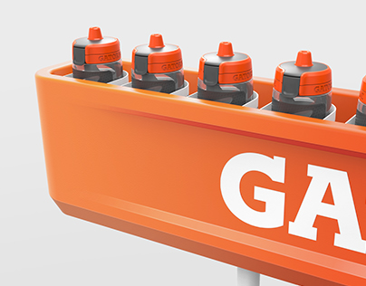 Gatorade Bottle Trough