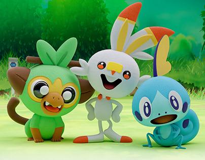 3D Character - Pokemon 8va generación