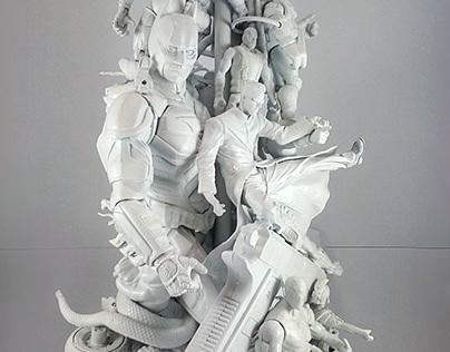 White Toy Lamp