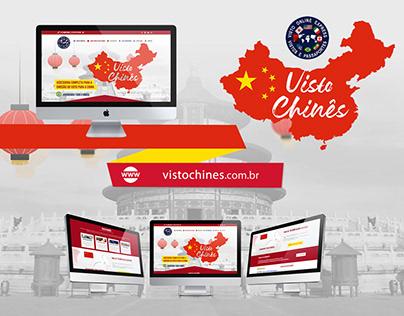 Web Design | Website Visto Chinês (VOE)