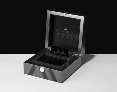 AIM Events - Presentation Case, Folder and Metal Card