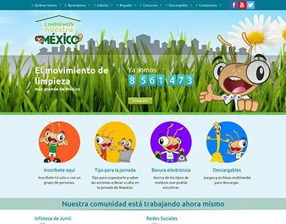 Limpiemos Nuestro Mexico Website