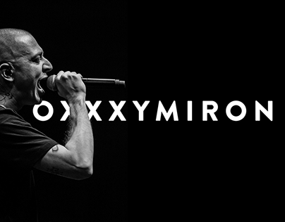 Oxxxymiron Website Concept