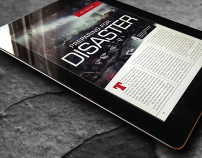 Disaster - Magazine Spread
