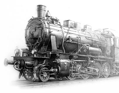 Drawings. locomotive, ram