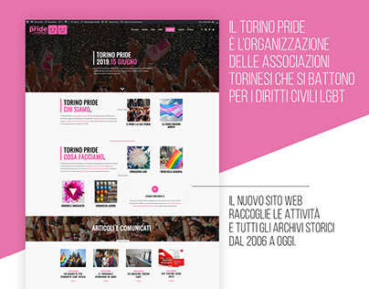 Torinopride.it | Web Design