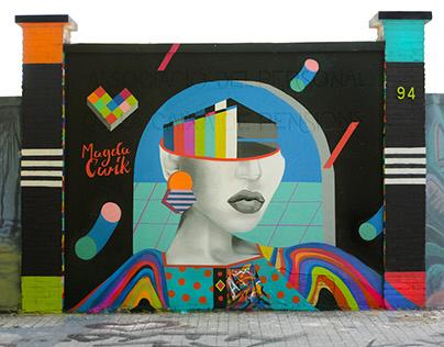 Tin Mural