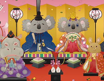 ひな祭り Hinamatsuri