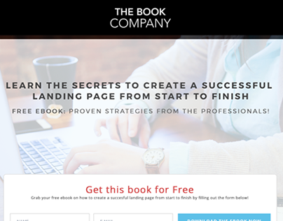 Landing Page - Ebook Download