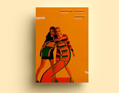 Poster by Xavier Esclusa Trias / Twopots Design Studio