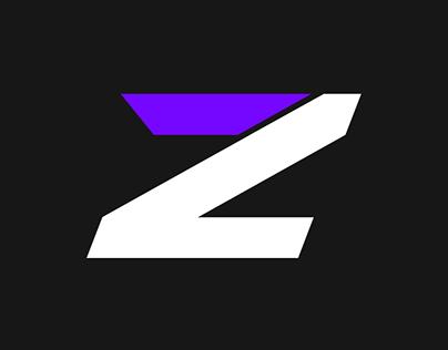 Logo Treatment: ZixxQD