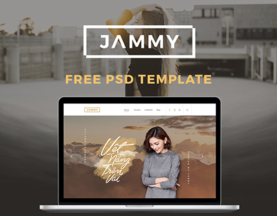 JAMMY - Free eCommerce PSD Template