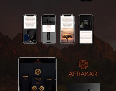 Afrakari (Wordpress Web Development + Design)