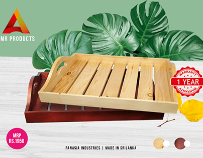 AMR WOODEN TRAY